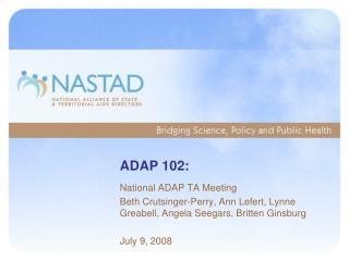 ADAP 102: