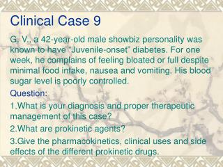 Clinical Case 9