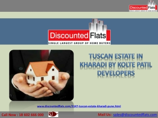 Booking Open for 3BHK Flats in Kharadi - Tuscan Estate