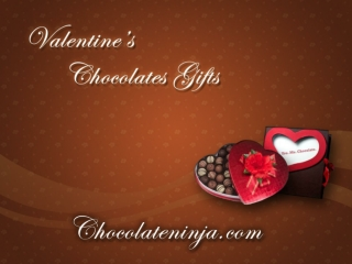 Valentines Chocolate Gifts