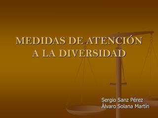 MEDIDAS DE ATENCI N A LA DIVERSIDAD