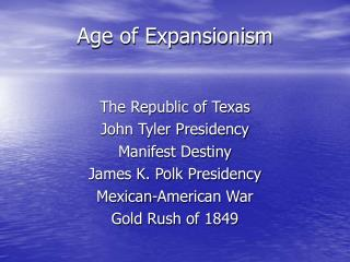 Age of Expansionism