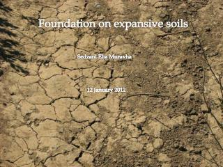 Foundation on expansive soils