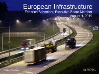 European Infrastructure