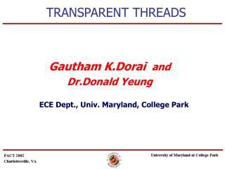 TRANSPARENT THREADS