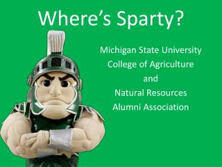 Where s Sparty