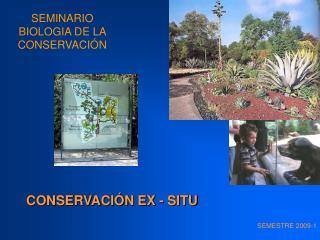 SEMINARIO BIOLOGIA DE LA CONSERVACI N