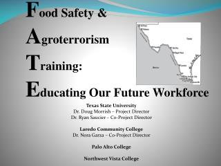 Food Safety  Agroterrorism Training: Educating Our Future Workforce