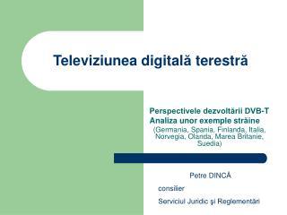 Televiziunea digitala terestra