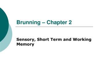Brunning   Chapter 2
