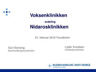 Lyder Knudsen  Inntakskoordinator