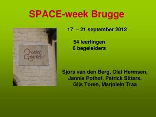 SPACE-week Brugge