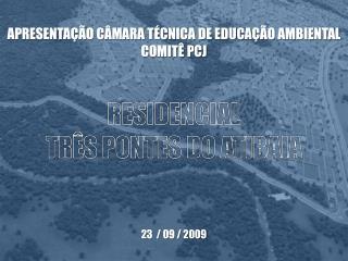 APRESENTA  O C MARA T CNICA DE EDUCA  O AMBIENTAL COMIT  PCJ