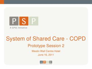 System of Shared Care - COPD