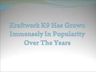 Kraftwerk K9 - Dog Training Firm