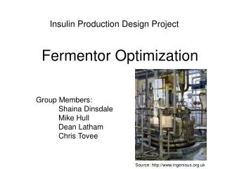 Insulin Production Design Project