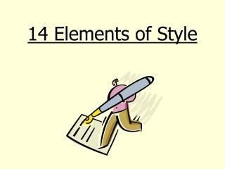 14 Elements of Style
