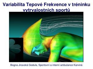 Variabilita Tepov  Frekvence v tr ninku vytrvalostn ch sportu