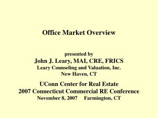Office Market Overview