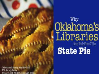 Services Provided by Oklahoma Libraries