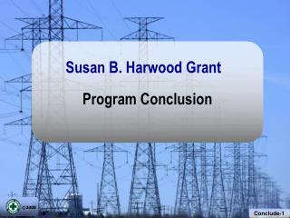 Program Conclusion
