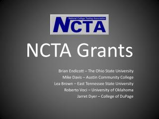 NCTA Grants