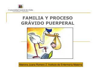 FAMILIA Y PROCESO GR VIDO PUERPERAL