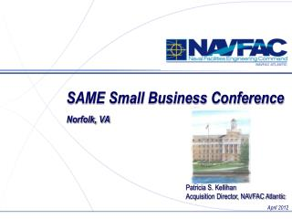 SAME Small Business Conference Norfolk, VA