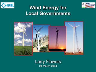 Wind Energy for  Local Governments