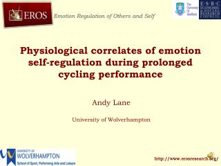 Physiological correlates of emotion self-regulation during prolonged cycling performance