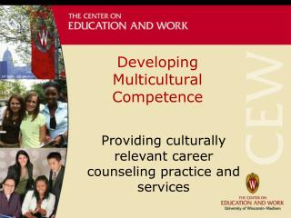 Developing Multicultural Competence