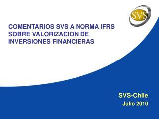 SVS-Chile Julio 2010