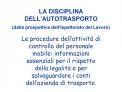 LA DISCIPLINA DELL AUTOTRASPORTO dalla prospettiva dell Ispettorato del Lavoro