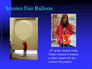 Science Fair Balloon
