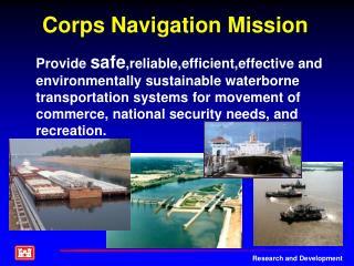 Corps Navigation Mission