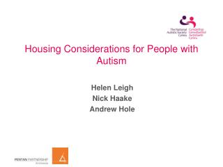 Housing Considerations for People with Autism