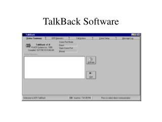 TalkBack Software
