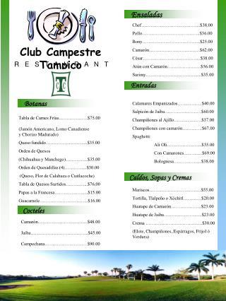 Club Campestre Tampico