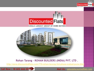 Rohan tarang New project By Rohan Builders