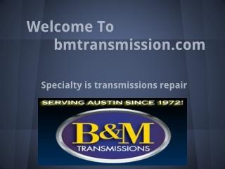 Austin Texas Auto Repair