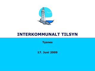 INTERKOMMUNALT TILSYN