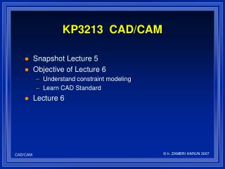 KP3213  CAD