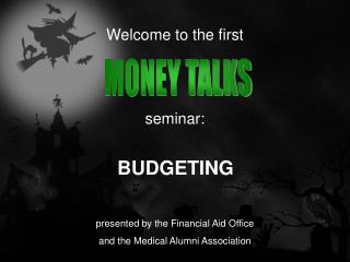 Welcome to the first   seminar: