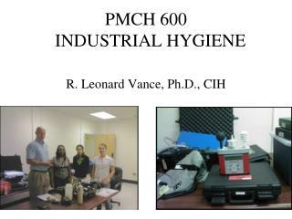 PMCH 600    INDUSTRIAL HYGIENE