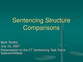 Sentencing Structure Comparisons