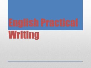 Translation of  Formal Letters