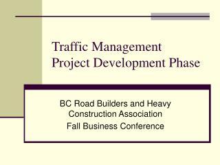 Traffic Management Project Development Phase