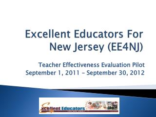 Excellent Educators For New Jersey EE4NJ