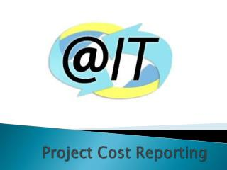 Project Cost Reporting