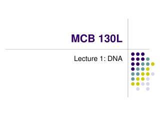 MCB 130L